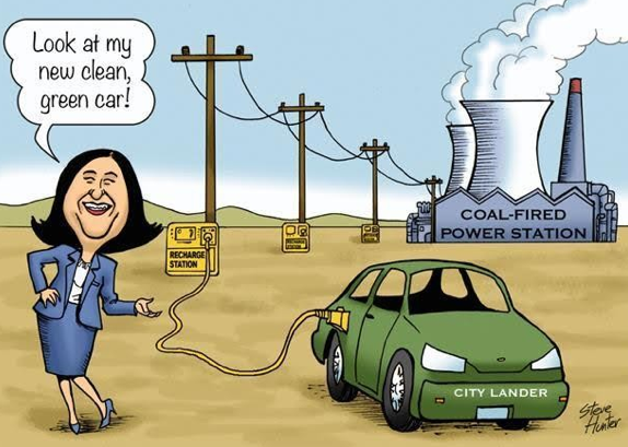 powered by coal