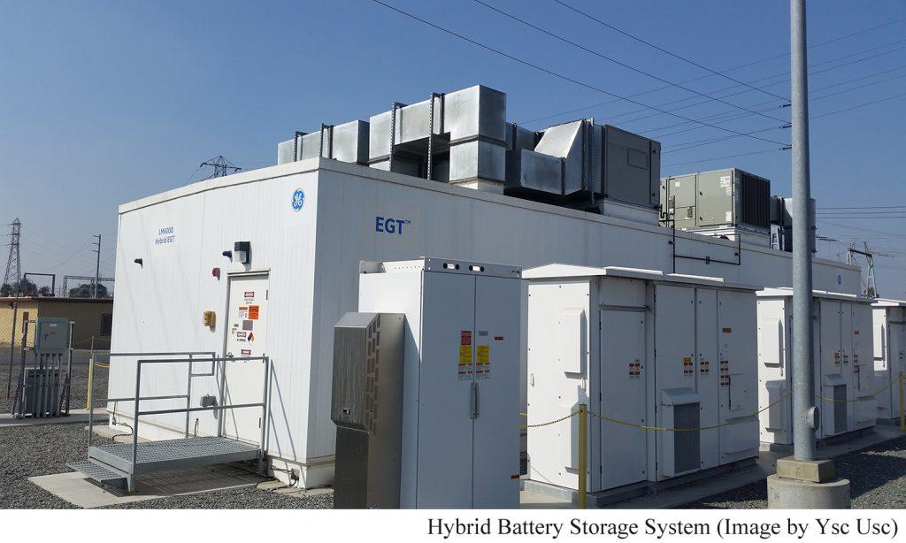 hybrid battery storage