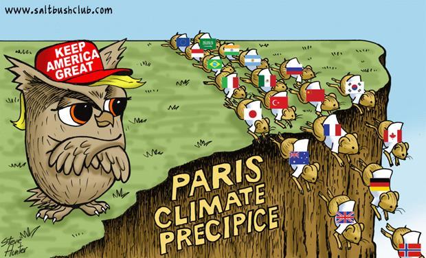 paris climate precipice