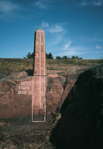 Bomarsund sea level gauge
