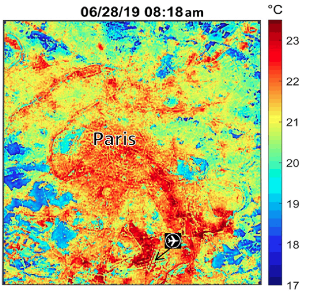 paris heat map