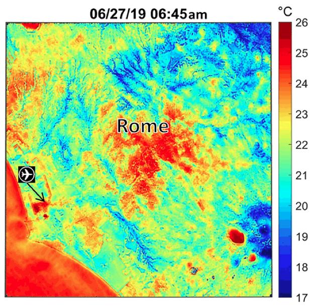 rome heat map