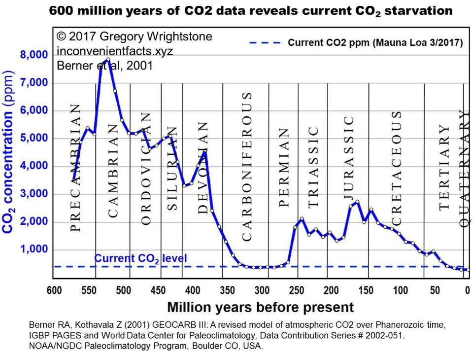 CO2 Data Reveals Current CO2 Starvation